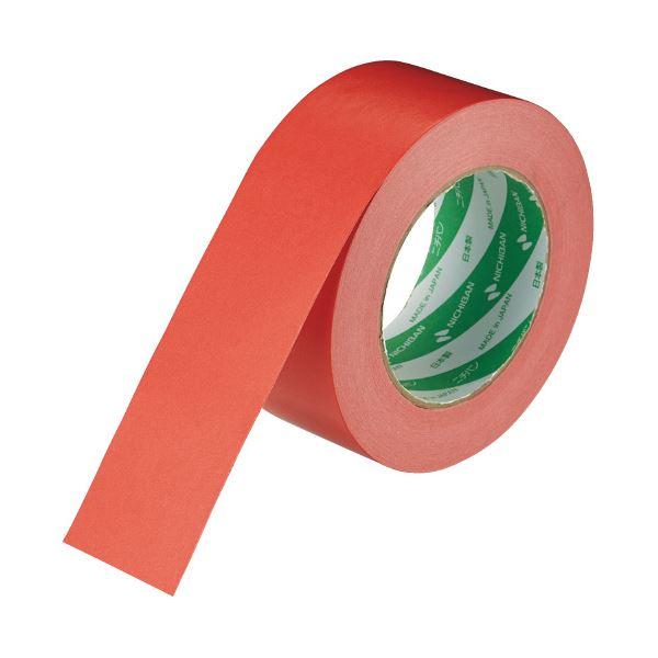 (まとめ)ニチバン ハイクラフトテープ 321WC-50 50mm×50m 赤(×50セット)