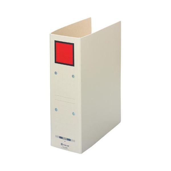 (まとめ) キングジム 保存ファイル ドッチ A4タテ 800枚収容 背幅94mm ピクト赤 4078 1冊 【×30セット】