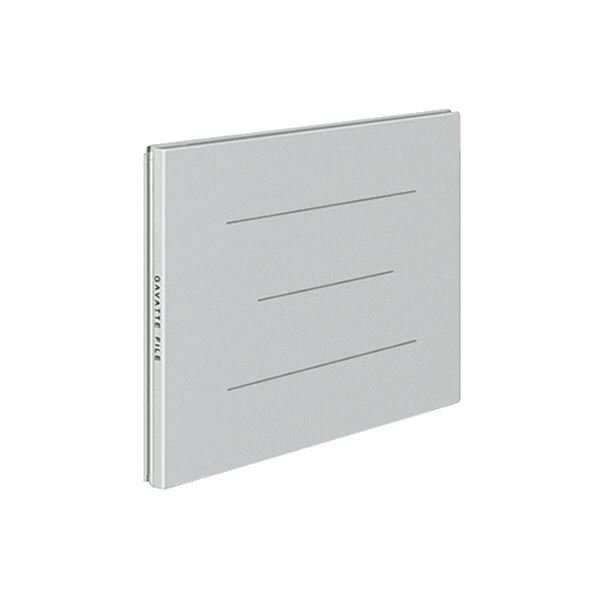 (まとめ) コクヨ ガバットファイル(紙製)A5ヨコ 1000枚収容 背幅13~113mm グレー フ-97M 1冊 【×30セット】