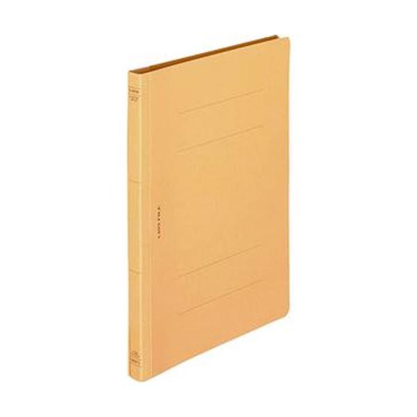 (まとめ)ライオン事務器 フラットファイル(環境)樹脂押え具 B5タテ 150枚収容 背幅18mm 黄 A-527KB5S 1冊【×100セット】