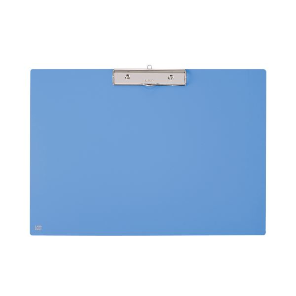 (まとめ) ライオン事務器 PETカラー用箋挟A3ヨコ ブルー No.241K 1枚 【×10セット】