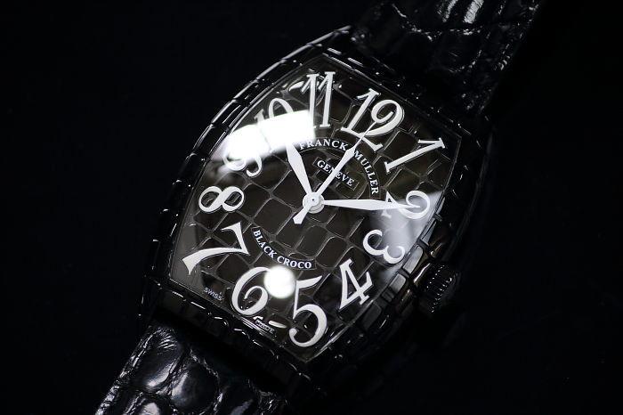《送料無料/返品可》 【国内正規品】 フランクミュラー ブラッククロコ 8880SC BLK CRO 【中古】【smtb-TD】【saitama】【05P06jul10】【MB-KP】