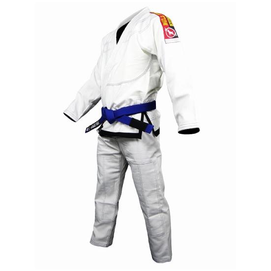 ブルテリア BULL TERRIER bjk-085 BULL TERRIER 柔術衣 Light 白