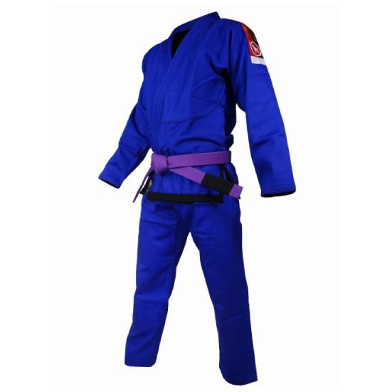ブルテリア BULL TERRIER bjk-086 BULL TERRIER 柔術衣 Light 青