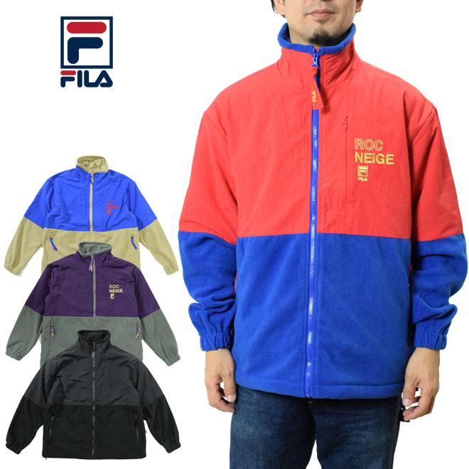 FILA フィラ フルジップフリースジャケット (FM9677 Full zip jacket メンズ レディース)