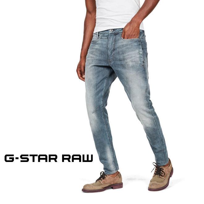 ジースター ロウ スリムフィットデニムパンツ (G-STAR RAW メンズ D05385-B604-A805 D-Staq 3D Slim Jeans)