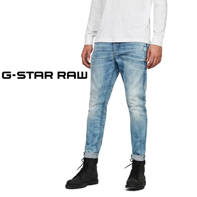 ジースター ロウ D-Staq 3Dスリムジーンズ デニム (G-STAR RAW メンズ D05385-C051-171 D-Staq 3D Slim Jeans ディースタック)