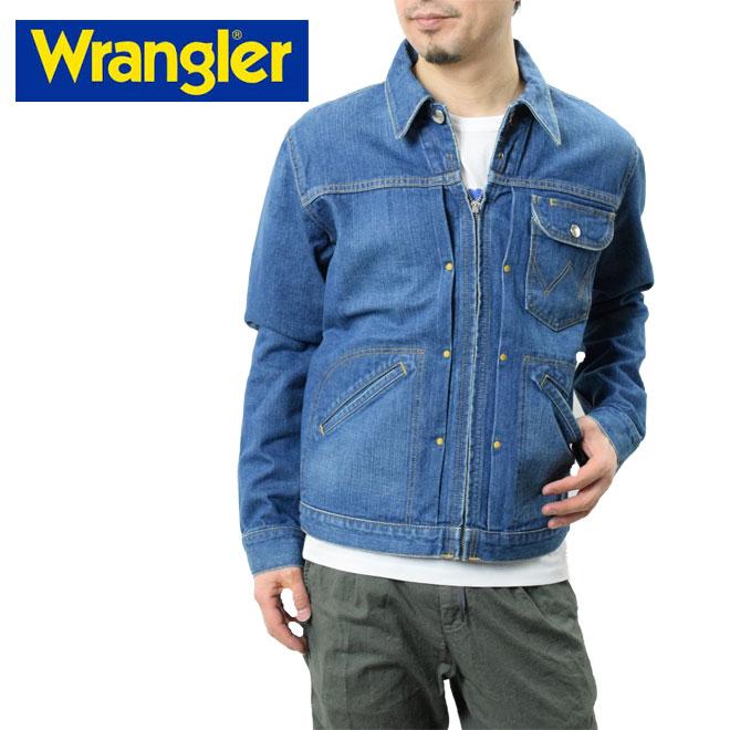Wrangler ラングラー ジップアップ デニムジャケット 11MJZ (WM1620 346)ジーンズ Gジャン ウエスタンビンテージ アメカジ
