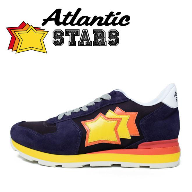 Atlantic STARS アトランティックスターズ スニーカー (ANTARES アンタレス VB-27R ネイビー)