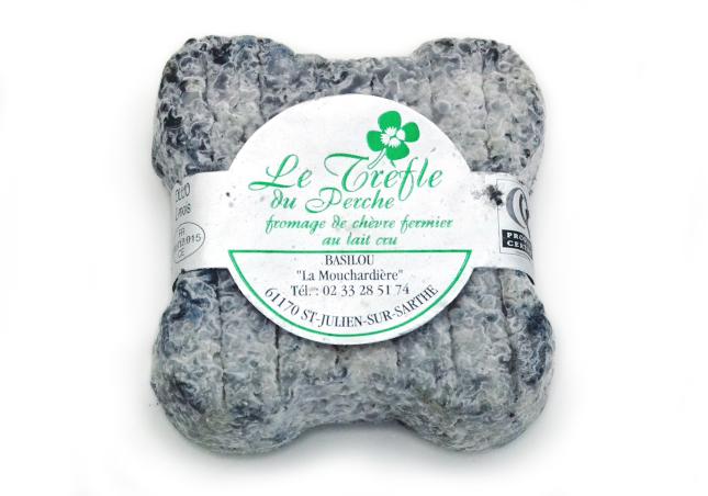 クローバーを模した爽やかでミルキーなシェーヴル トレフル【山羊乳製チーズ/シェーブル/フランス】