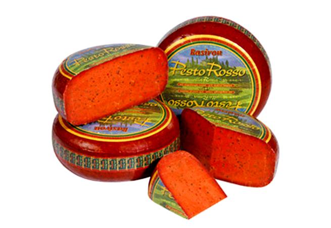 鮮やかな赤色が食欲をそそるトマト風味のゴーダチーズ ゴーダ ロッソ 90g 当店は最高な サービスを提供します セミハードタイプチーズ オンラインショッピング オランダ