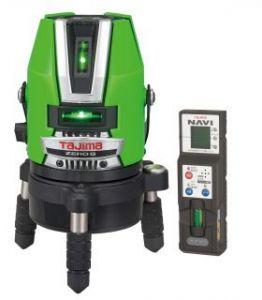 【レビューで送料無料】 タジマ【ZEROGN-KJY】レーザー墨出し器 (グリーンレーザー)<本体のみ>, 釣具総合卸売販売 フーガショップ2 17164ae5
