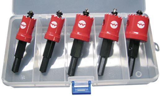 オールマイティーに使えるコバルトハイスバイメタル 商い 大日商 SLホールカッター SL-D 永遠の定番モデル アレンジセット