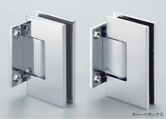シャワーブースや浴室でも使えます 新色追加 スガツネ ガラスドア用自由丁番 789B型 メーカー公式ショップ サテンクロム壁取付タイプ 104mm 789B-10SC