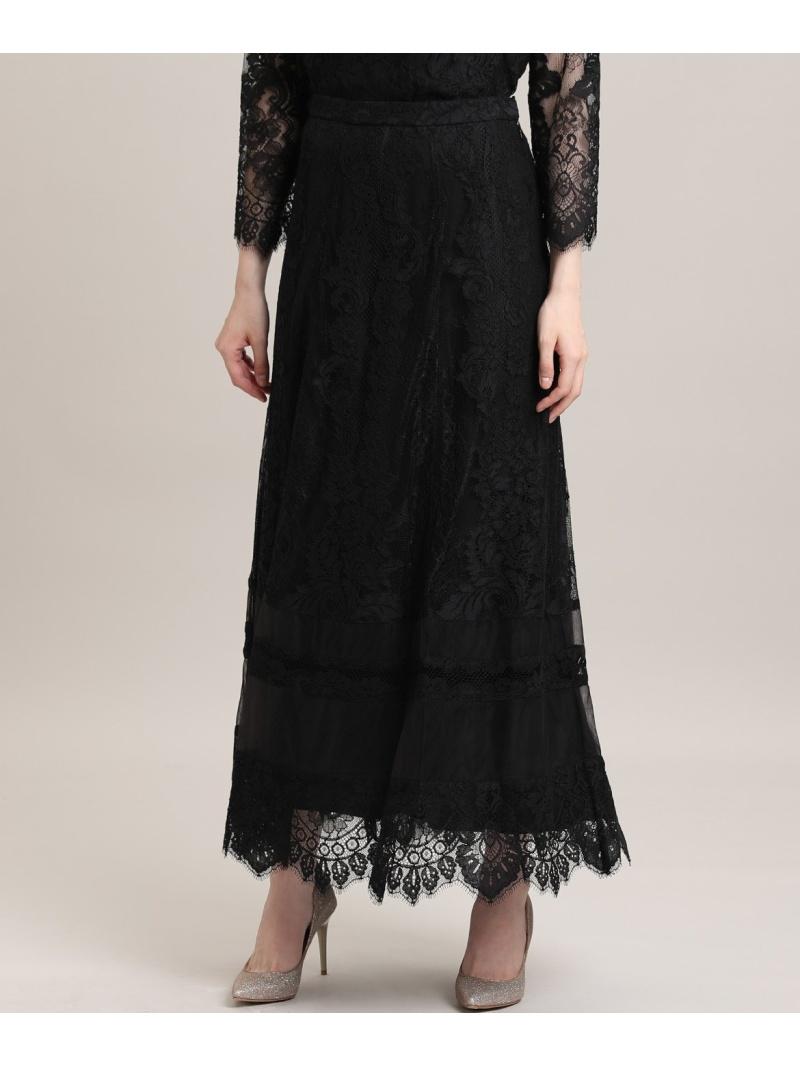 ef-de レディース スカート エフデ M Maglie le ブラック レースロングスカート 割引も実施中 商品 ロングスカート 送料無料 Rakuten Fashion cassetto