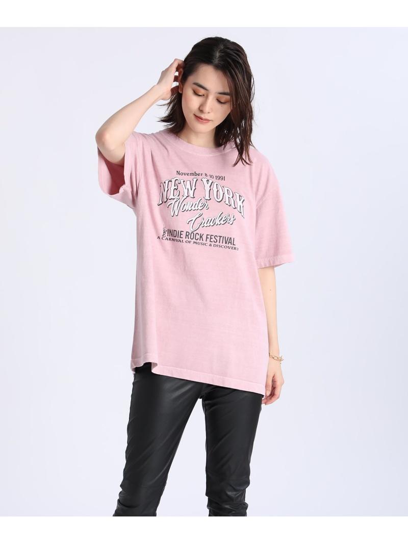 INED レディース 当店は最高な サービスを提供します カットソー イネド お歳暮 SALE 60%OFF SUPERIOR CLOSET ROCK FES Rakuten ピンク RBA_E Fashion SPEED ホワイト Tシャツ GOOD