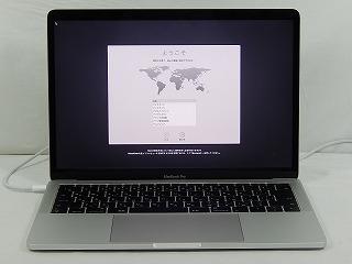 【中古】Apple MacBookPro/MPXR2J/A(A1708)/Corei5 7360U 2.3GHz/メモリ8GB/SSD128GB/13.3インチ/Mac OS 10.13.2【1年保証】【TG】