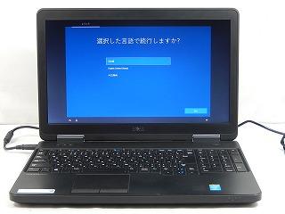 【中古】DELL Latitude E5540/P35F/Corei3 4010U 1.7GHz/メモリ4GB/HDD500GB/DVD/CD/15.6インチ/Win10Home【1年保証】【E】【TG】