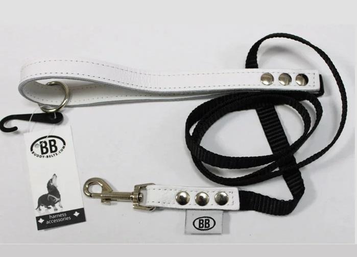 ラグジュアリーな犬用リード BB アクセントレザーS 送料無料限定セール中 ラグジュアリー ナイロンリード Sサイズ 犬 日本正規代理店品 BUDDYBELT ドッグ リード BUDDY BELT 犬用 ペット