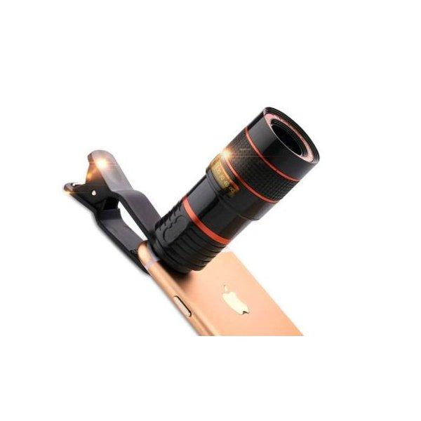 スマホ用望遠レンズです 受注生産品 ☆スマホ スマートフォン 望遠レンズ メーカー直売 クリップタイプ