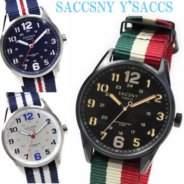 サクスニーイザック SACCSNY Y'SACCS SYA-1509310気圧防水 ユニセックス 男女兼用 メンズレ ディース腕時計 ペア ラウンド 円形 カジュアル プレゼント ギフトに最適 ウォッチ  おしゃれ かわいい ビジネス フォーマル 女性用 腕時計 クリスタル ホワイトデー