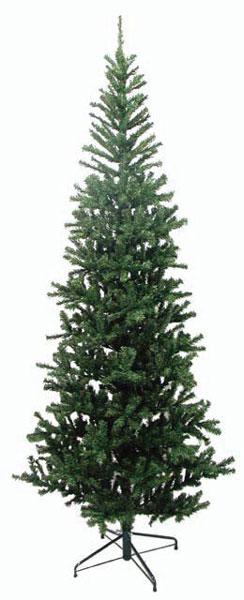 【クリスマスツリー 送料無料 大型 造花 】 スリムツリー グリーン 240cm 人工観葉植物 消臭・抗菌 観葉植物 人工樹木 リース パーティー グッズ フェイクグリーン 玄関 リビング おしゃれ