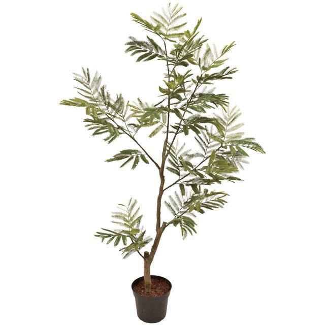 キャッシュレス5%還元対象 観葉植物 造花 大型 人工観葉植物 消臭・抗菌 UDD触媒 ねむの木 150cm フェイクグリーン