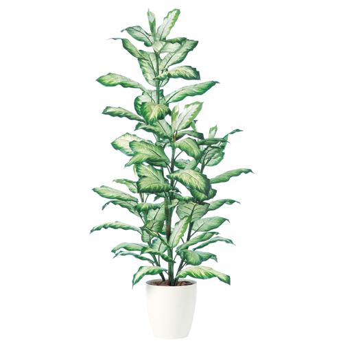 キャッシュレス5%還元対象 観葉植物 インテリア 大型 人工観葉植物 消臭・抗菌 UDD触媒 ゴールデンディフェンバキア 180cm 送料無料 フェイクグリーン