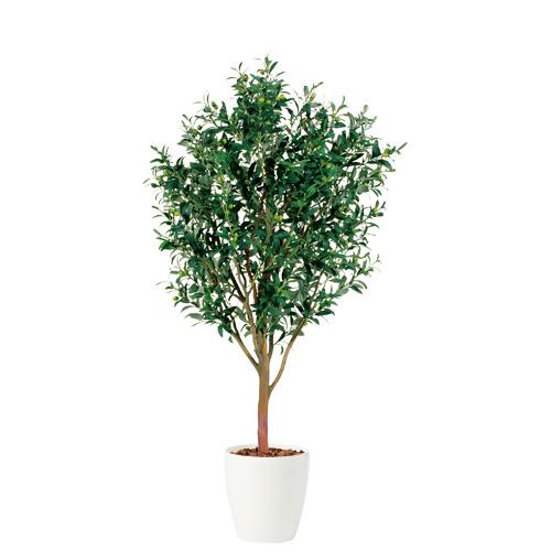 観葉植物 インテリア 大型 人工観葉植物 消臭・抗菌 UDD触媒 ライブオリーブ 200cm [特定送料] フェイクグリーン
