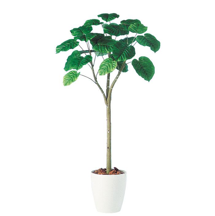 キャッシュレス5%還元対象 観葉植物 インテリア 造花 大型 人工観葉植物 消臭・抗菌 UDD触媒 ウンベラータ 150cm 送料無料 フェイクグリーン
