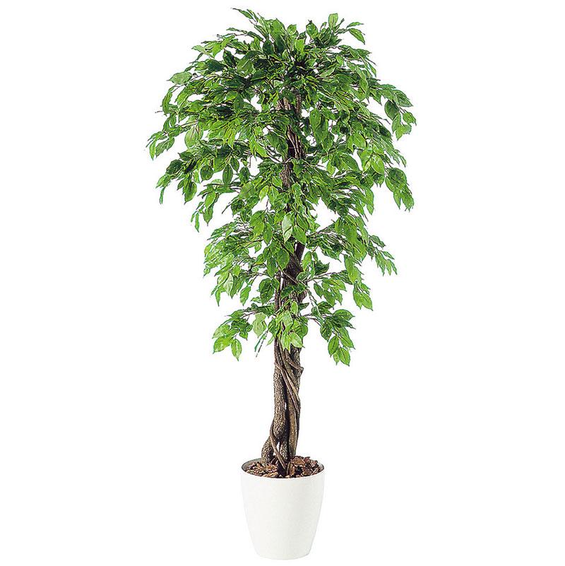 観葉植物 造花 大型 人工観葉植物 消臭・抗菌 UDD触媒 ベンジャミナスプラッシュリアナ 200cm・180cm・150cm 送料無料 フェイクグリーン