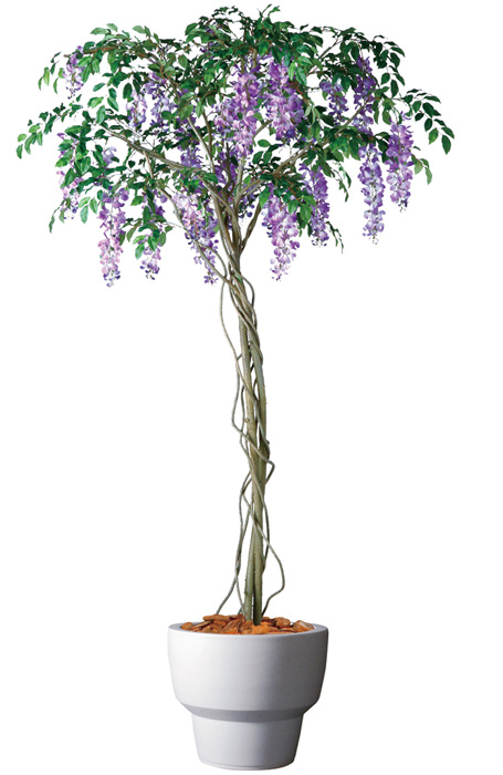 キャッシュレス5%還元対象 観葉植物 インテリア 造花 大型 人工観葉植物 消臭・抗菌 UDD触媒 藤 200cm 送料無料 フェイクグリーン