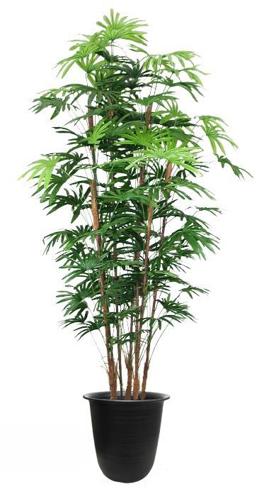 キャッシュレス5%還元対象 観葉植物 大型 造花 リビング 人工観葉植物 消臭・抗菌 UDD触媒 棕櫚竹(シュロチク)180cm 送料無料 和風 バンブー フェイクグリーン 竹 CT触媒