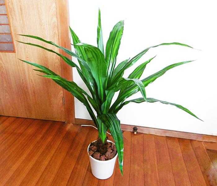 キャッシュレス5%還元対象 人工観葉植物 送料無料 造花 タニワタリ 110cm