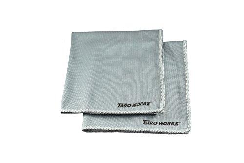 TARO ついに入荷 WORKS ガラス窓専用 ☆送料無料☆ 当日発送可能 マイクロファイバークロス 内外装 2 Pack