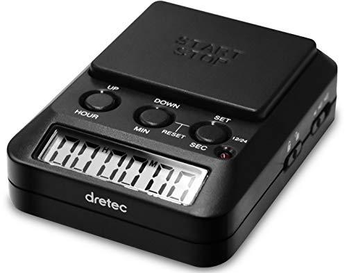 改良版 dretec ドリテック 勉強タイマー ブラック 消音 保障 限定タイムセール タイムアップ2 T-587BK