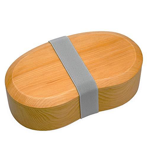 送料無料激安祭 当店一番人気 Eaoike そらまめ弁当箱 天然木をくり抜いて造られたおしゃれなおべんとう箱