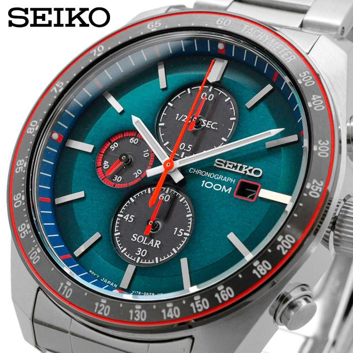 あす楽対応 Sale セール 新作通販 父の日 ギフト プレゼント ラッピング無料 送料無料 新品 腕時計 海外モデル ソーラー タキメーター 100M セイコー 並行輸入品 SSC717P1 SEIKO クロノグラフ メンズ バーゲンセール