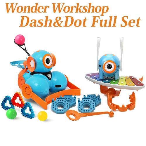 【Wonder Workshop 】 プログラミング ロボット ダッシュ(ダッシュくん) ドット(ドットちゃん) ワンダー パーク シロフォン ランチャー アクセサリーパック [並行輸入品] Dash Dot Robot Wonder Pack Xylophone Launcher Accessories おもちゃ 知育ロボット