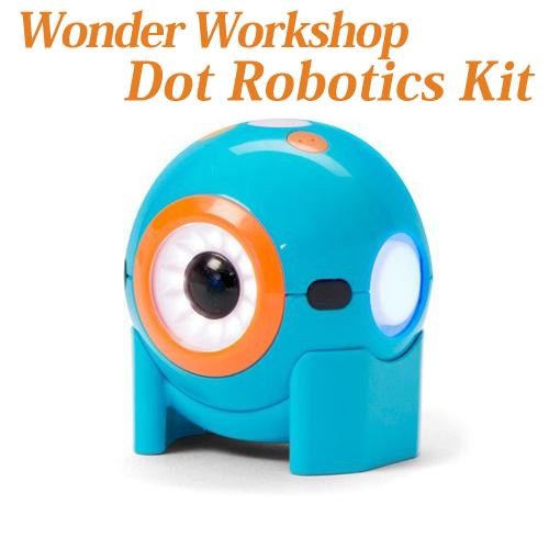 【Wonder Workshop 】 プログラミング ロボット ドット [並行輸入品] Dot Robotics Kit iPhone iPad おもちゃ 知育ロボットプログラム可能 教育 ロボット 送料無料 並行輸入品 海外お取り寄せ【smtb-tk】