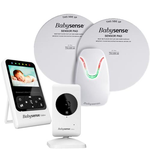 保証なし価格! hisense社 Babysense 7 Video + Movement Monitor Babysense7 ベビーセンス7 (最新版)ベビーセンス 7 ベビーモニター + カメラ付き セット 乳幼児 感知センサー 乳幼児 ワイヤレス 呼吸モニター 並行輸入品 送料無料