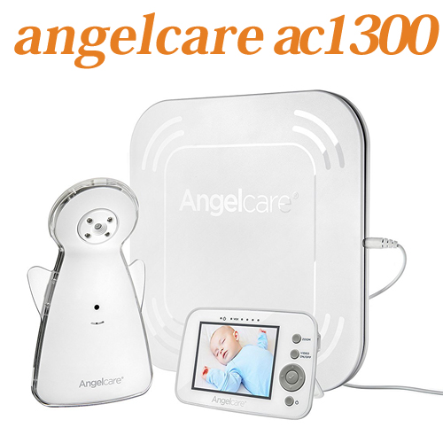 Angelcare AC1300 Video and Movement with Sound Monitorエンジェルケア ビデオ&ベビーモニター 送料無料