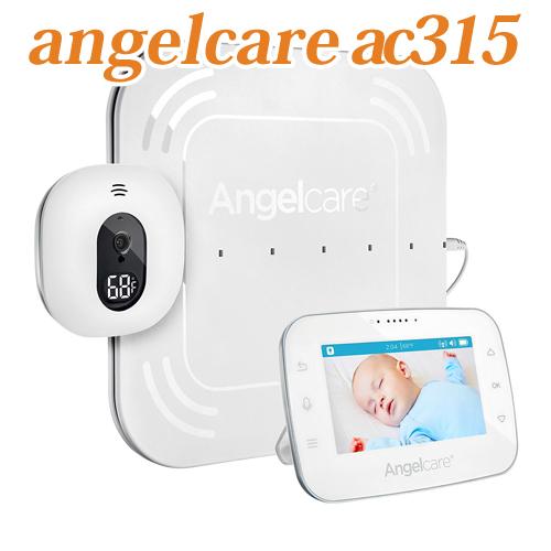 Angelcare AC315 Baby Movement Monitorエンジェルケア ビデオ&ベビーモニター 温度感知センサー付き ベビーセンスより多彩な機能 送料無料 海外お取り寄せ商品