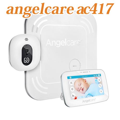 Angelcare AC417 Baby Movement Monitorエンジェルケア ビデオ&ベビーモニター ワイヤレスセンサーパッド 温度感知センサー付き ベビーセンスより多彩な機能 送料無料 海外お取り寄せ商品
