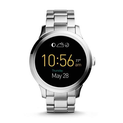 フォッシル スマートウォッチ Fossil FTW20001 Q Gen 1 Smartwatch Founder Touchscreen Silver海外お取り寄せ商品 米国正規商品 送料無料【smtb-tk】