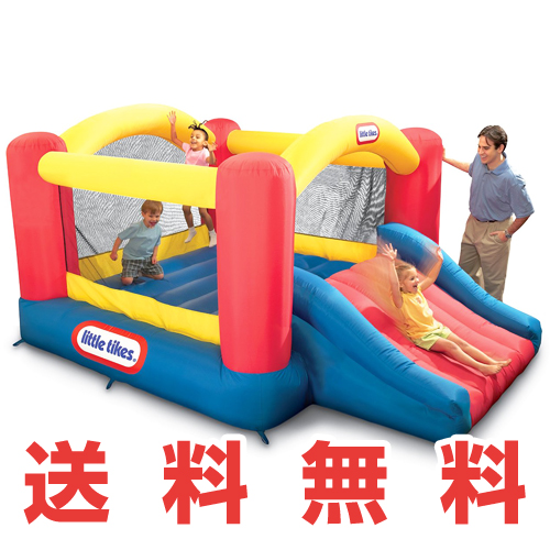 Little Tikes Jump 'n Slide Bouncerリトルタイクス ジャンプ スライドバウンサーエアーバウンサー 屋外用 室内用 トランポリン子供用トランポリン 幼児~ すべり台 エアートランポリン おもちゃ・玩具