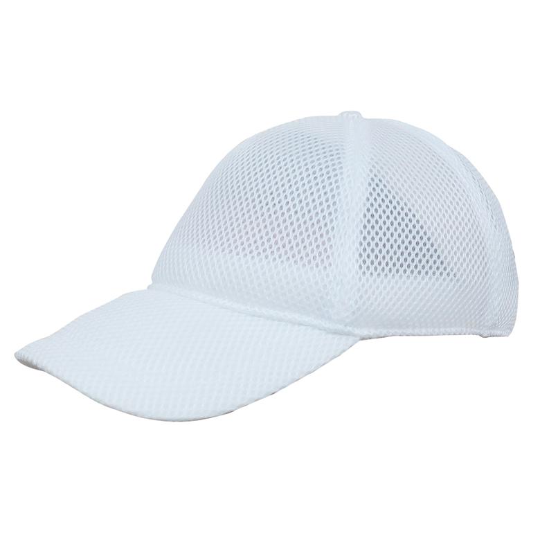 大人用フリーサイズ ベースボールタイプの体育帽 サンドイッチクッションメッシュ仕様で蒸れにくく快適 メッシュキャップ白 陸上自衛隊 自衛隊 迷彩 戦人 ギフト タクティカル ミリタリー アウトドア 帽子 アーミー サバゲー 迅速な対応で商品をお届け致します Senjin