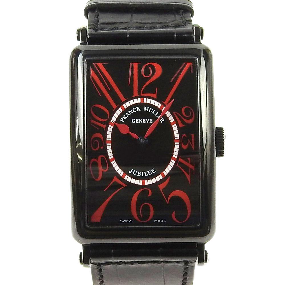 【本物保証】 フランクミュラー FRANCK MULLER ロングアイランド リミテッドエディション メンズ腕時計 K18 PVD 【中古】