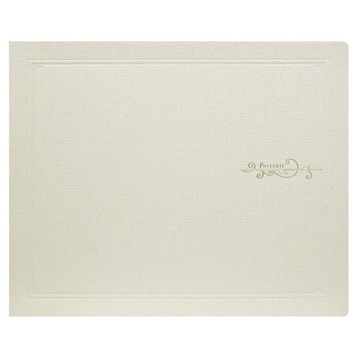 クラシックL横八切ベージュ 20冊入り写真台紙 記念写真 TAKENO 竹野株式会社 103-0004