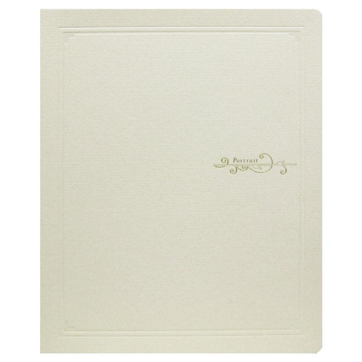 クラシックL立八切ベージュ 20冊入り写真台紙 記念写真 TAKENO 竹野株式会社 103-0003